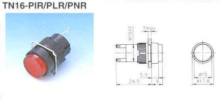 TN16-PIR PLR PNR
