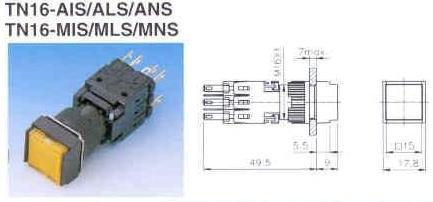 TN16-AIS ALS ANS MIS MLS MNS