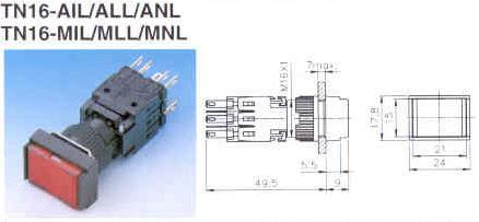 TN16-AIL ALL ANL MIL MLL MNL